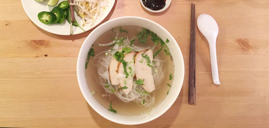 Leftover turkey pho